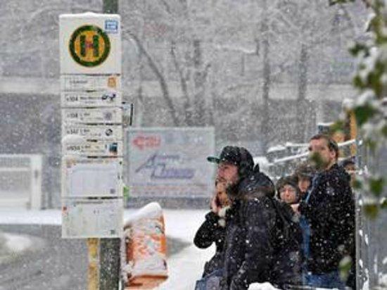 Hotel Ansbach:                   Berlin bei Schnee