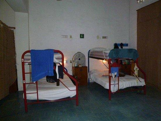 Nomadas Hostel:                   Im 10er Frauendormitorio