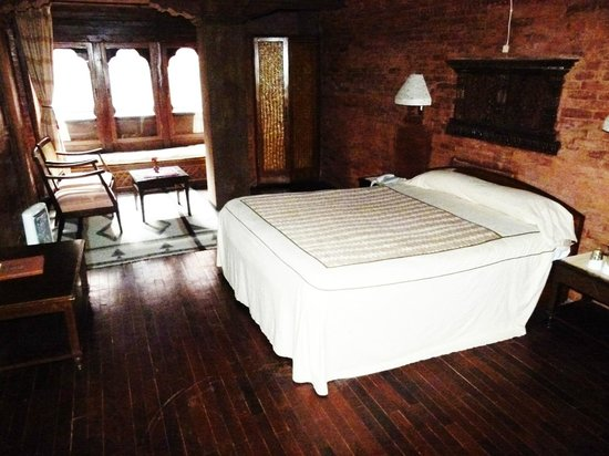 Kantipur Temple House: Deluxe double