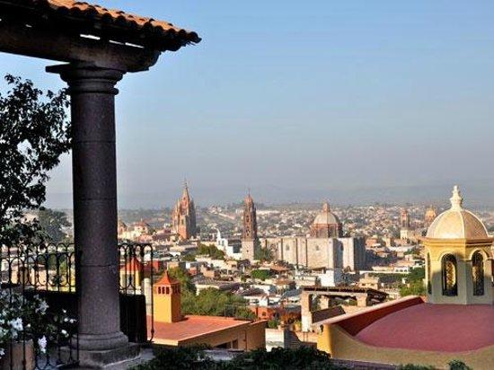 Casa de la Cuesta: San Miguel View