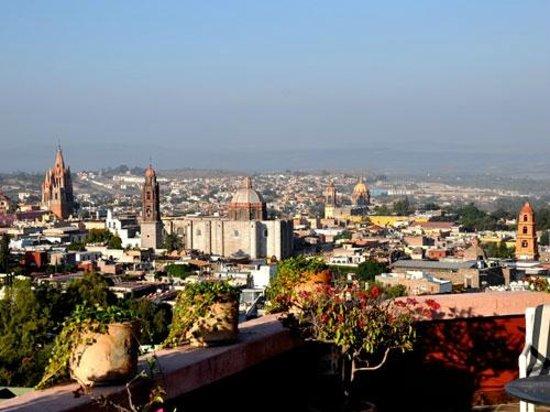 Casa de la Cuesta: View of Downtown