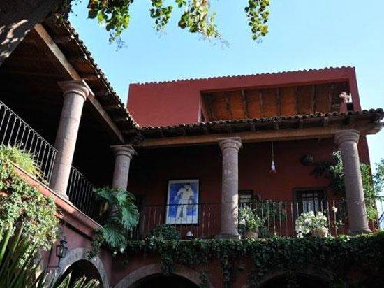 Casa de la Cuesta: View from Courtyard