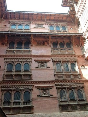Kantipur Temple House: Newari brick and carved architecture