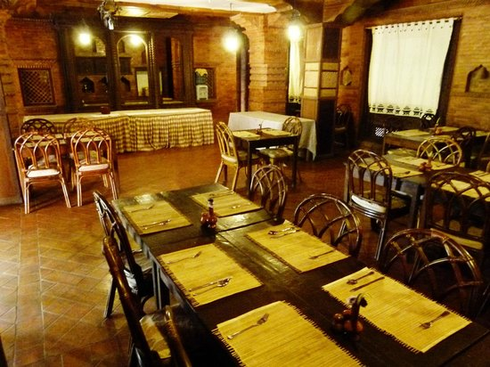 Kantipur Temple House: dining restaurant