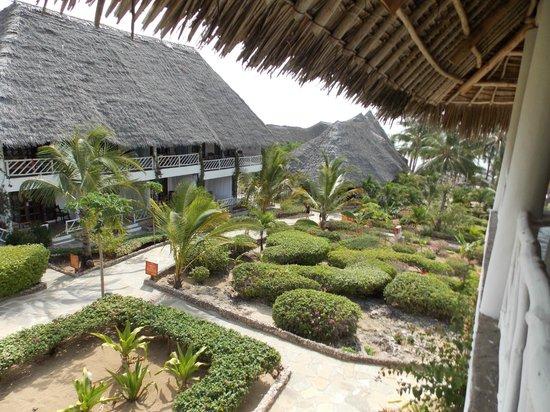 Eden Village Watamu Beach:                   Vista camera - lato terrazzino