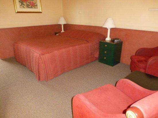 Milton Village Motel: plenty of space