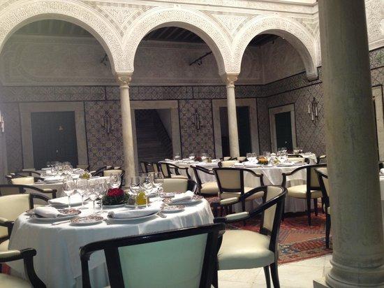 Dar El Jeld:                   Le restaurant
