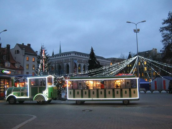 Conference Hotel Tomo: Riga's sightseeing train