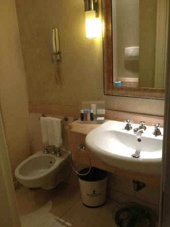 โรงแรมสเตนดาล: Nice and clean bathroom