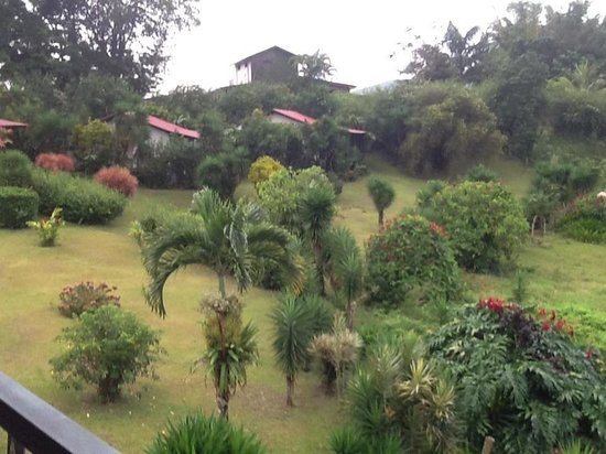 La Mansion Inn Arenal Hotel:                   View from our private balcony at La Mansion Inn ~ Gorgeous!! D