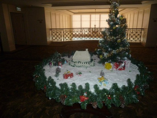 Indochine Palace :                   Christmas Decorations on our Landing