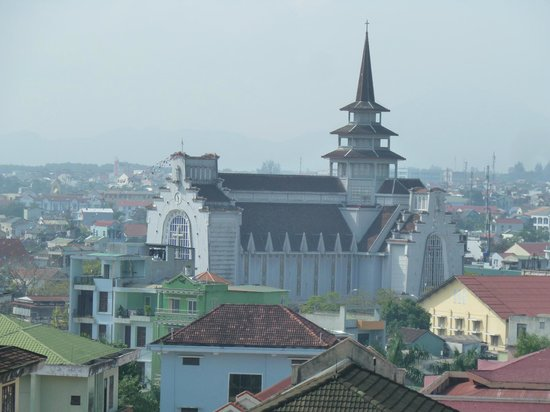 Indochine Palace :                   The cathedral by day