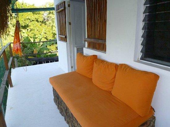 El Jardin de Frida:                   Balkon hinten raus