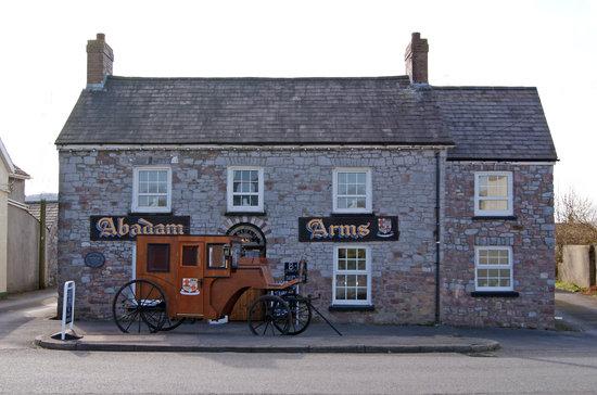 Porthyrhyd, UK:                                     village pub