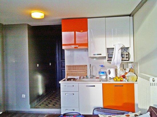 Ala Suites: Small Kitchen set.