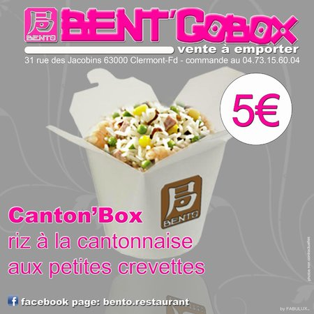 bent 39 gobox vente emporter photo de bento restaurant clermont ferrand tripadvisor. Black Bedroom Furniture Sets. Home Design Ideas