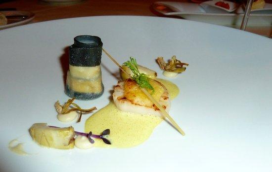 Interalpen-Hotel Tyrol: diner