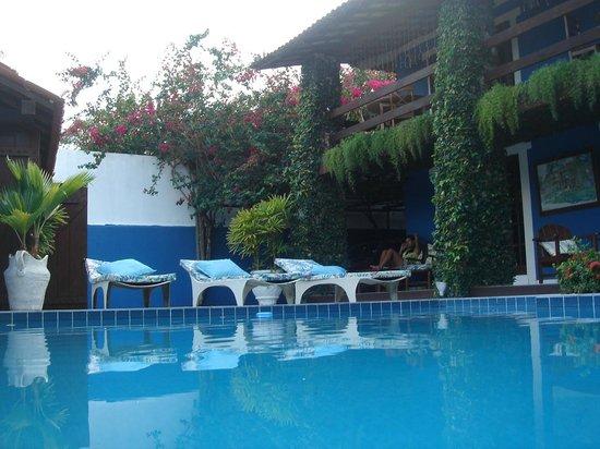 Pousada Fragata: Vista da piscina