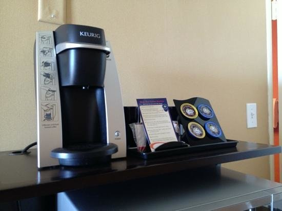 SeaCrest OceanFront Hotel:                   we have keurig at home so this was awesome to have here