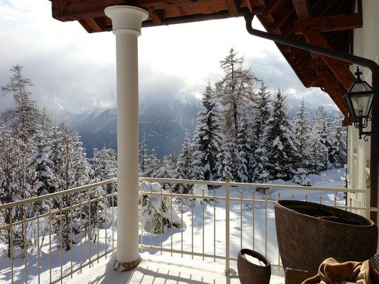 Interalpen-Hotel Tyrol: spa terras