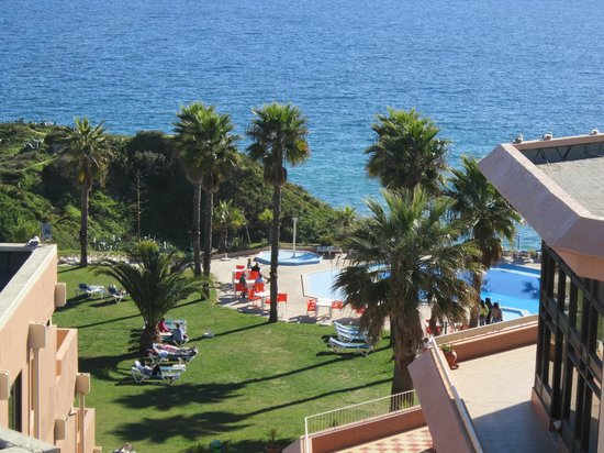 view from balcony of room B315