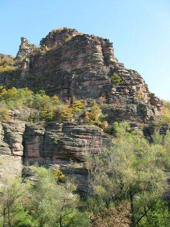 """Nature Park Stara Planina:                   Canyon """"Little Colorado"""" van de Temstica"""