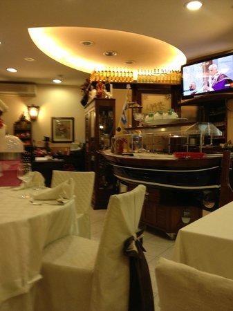 Il Buttero:                                     Reception/Dining area