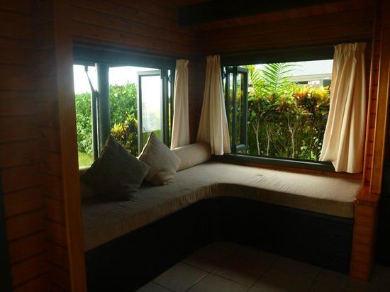 Taveuni Island Resort & Spa:                   window seat