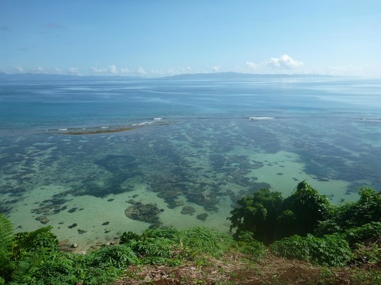Taveuni Island Resort & Spa:                   the reef, right in front of our bure