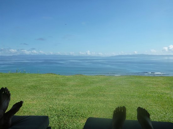 Taveuni Island Resort & Spa:                   view from the room