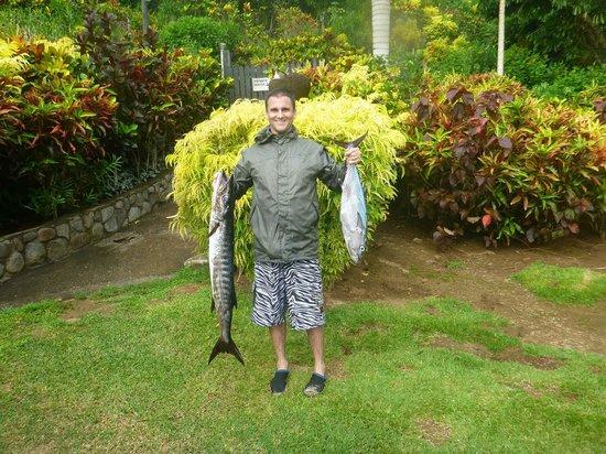 Taveuni Island Resort & Spa :                   deep sea fishing trip