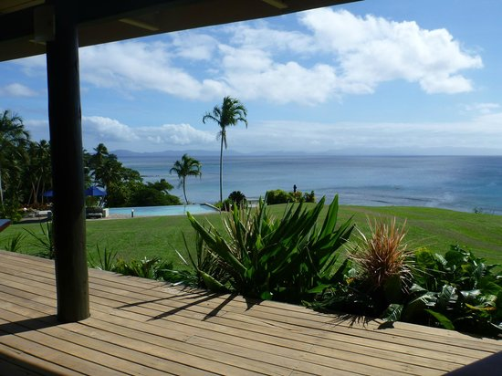 Taveuni Island Resort & Spa:                   view from the restaurant