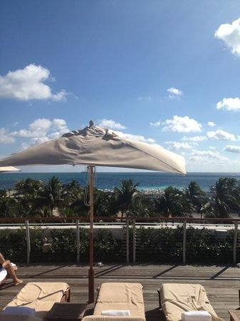 The Betsy - South Beach:                   dachterrasse