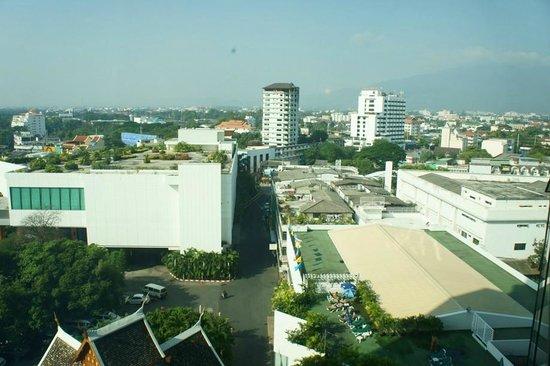 Empress Hotel: Blick aus dem Zimmerfenster