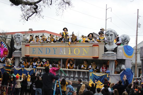 Canal Street Inn:                   Endymion Parade