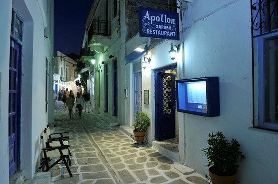 Apollon Garden Restaurant: Our Front Entrance