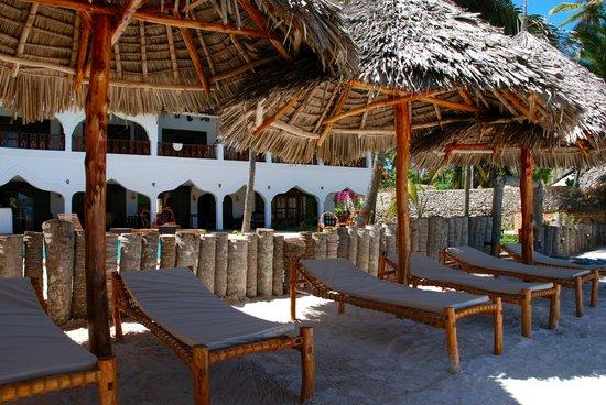 Zanzibar House: Private Beach