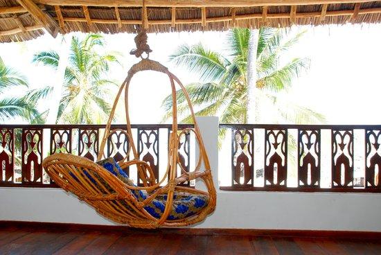 Zanzibar House: Room Terrace