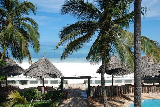 Zanzibar House: View from one of our Ocean Front Rooms