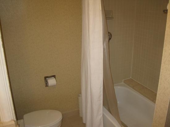 โรงแรมไฮแอทรีเจนซี่ บอสตัน:                   tub/shower