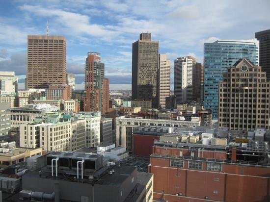 Hyatt Regency Boston:                   view from room