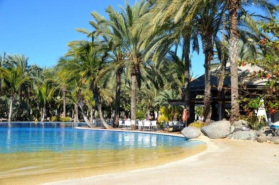 Lopesan Costa Meloneras Resort, Spa & Casino:                   Lopesan Costa Meloneras, lagoon.
