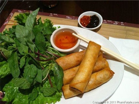 Green Bamboo:                   egg rolls