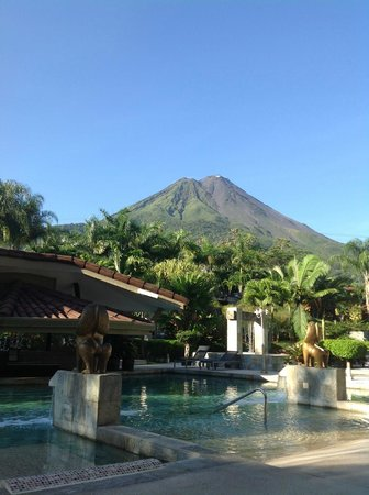 The Royal Corin Thermal Water Spa & Resort:                   view from the pool