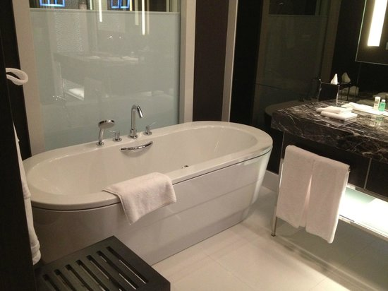 Le Meridien Hotel: The tub