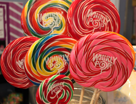 Georgie Lou's Retro Candy : Whirly Pops at Georgie Lou's.