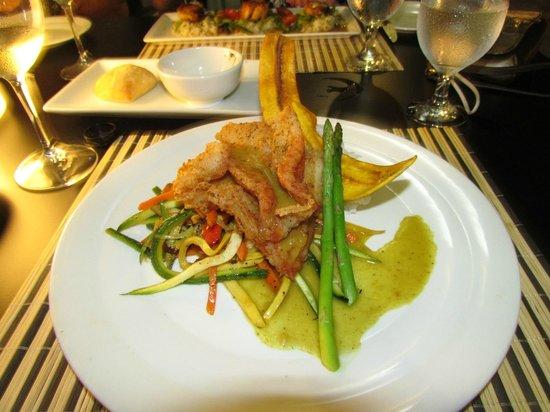 Sunset Beach Bistro: My grouper dinner