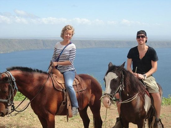 Painted Pony Horse Tours: View of the Laguna