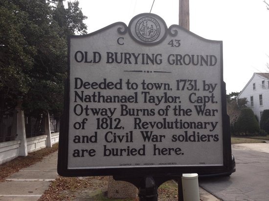 Beaufort Historic Site Old Burying Ground照片