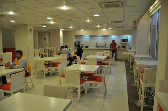 City Express Poza Rica: Breakfast area